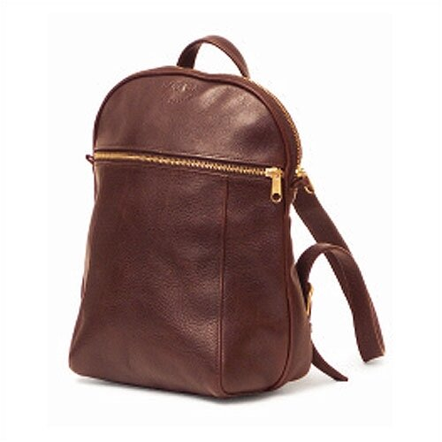 Aston Leather Small Backpack