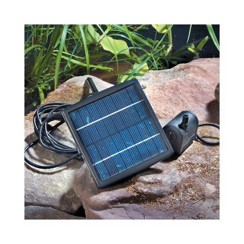 Unique Arts 33 GPH Small Solar Diesel Pump with Rotating Holder and Brushless Pump
