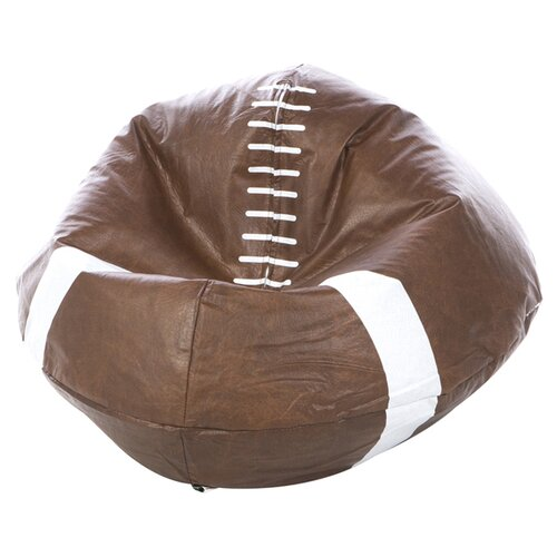 X Rocker Football Bean Bag Chair Amp Reviews Wayfair