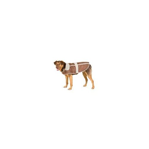 Burghley Dog Rug Jacket in Chocolate