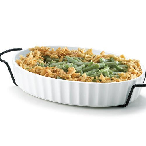 Home Essentials and Beyond 1-qt. Oval Casserole