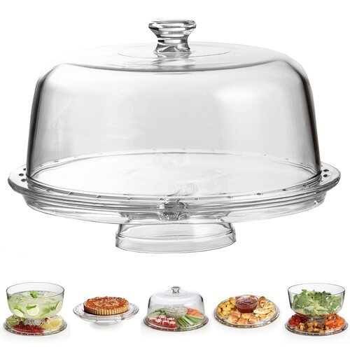 Home Essentials and Beyond 6-in-1 Cake Plate