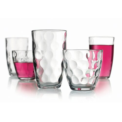 Home Essentials Echo 16-Piece Drinkware Set