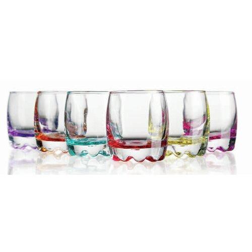 3.5 oz. Bottom Shot Glass (Set of 6)