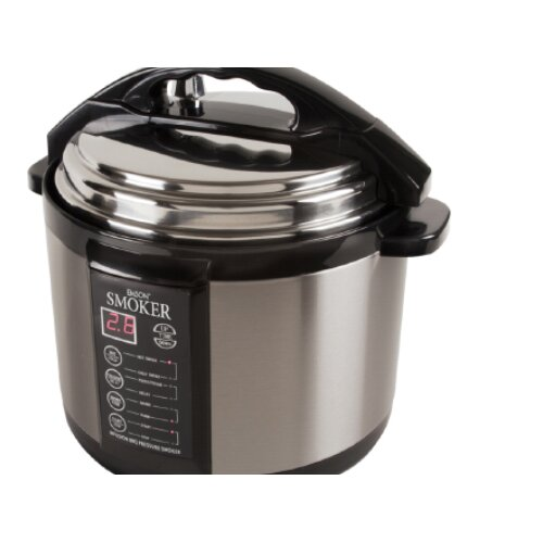 Emson Emson Electric 5-Quart Pressure Smoker Cooker
