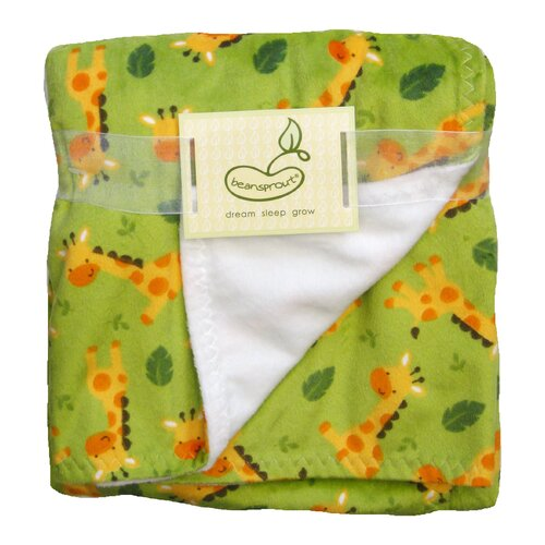 Toss Blanket Giraffes Crib Throw