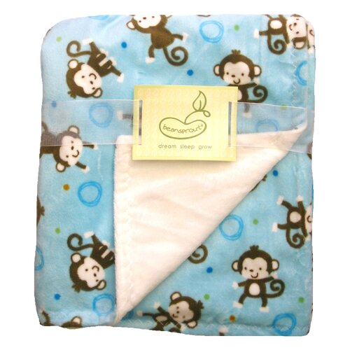 Monkey Toss Crib Throw