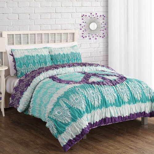 Peace Lace Batik Comforter Set