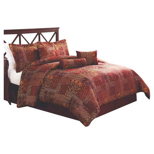 Monroe Catarina 7 Piece Comforter Set