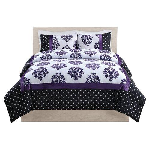 Franchesca Dot Comforter Set