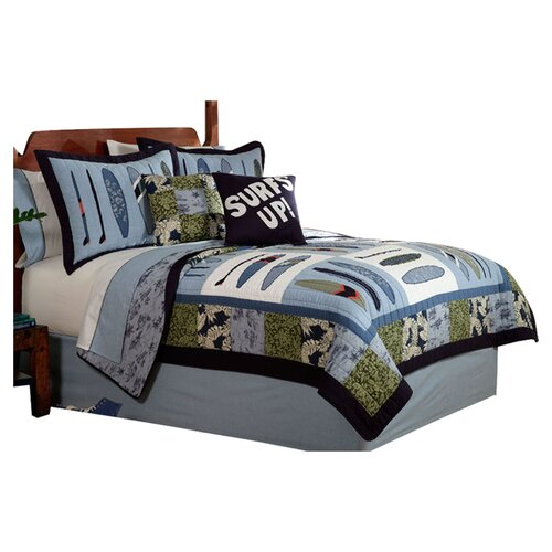 My World Catch a Wave Quilt Set