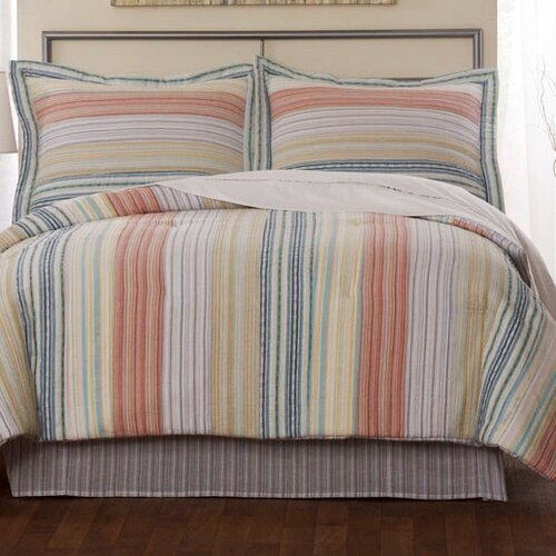 Stripe Pastel Cotton Quilt