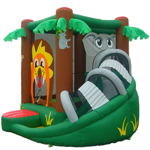 Kidwise Safari Inflatable Bounce House