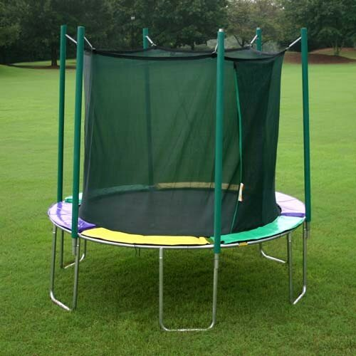 Kidwise 12' Round Magic Circle Trampoline with with Enclosure