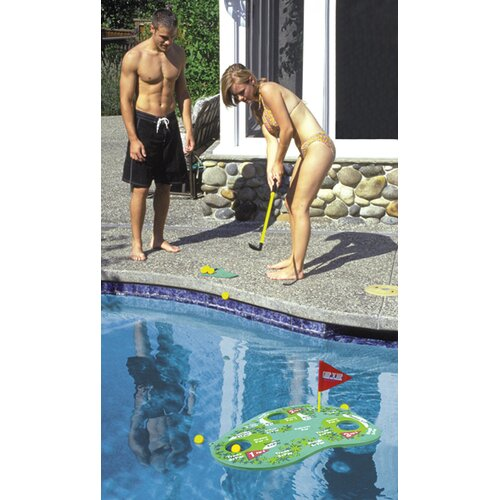 Poolside Challenge Floating Golf Game