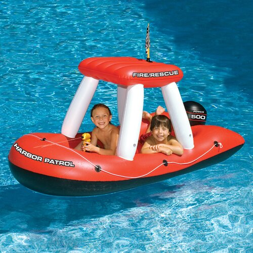 Fireboat Squirter Pool Toy