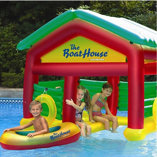 Swimline Boathouse Habitat Pool Toy