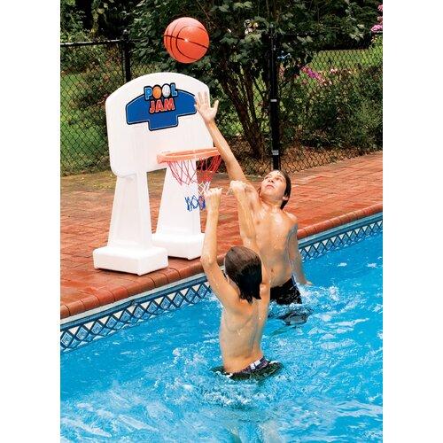 Swimline Pool Jam In-Ground Basketball Game