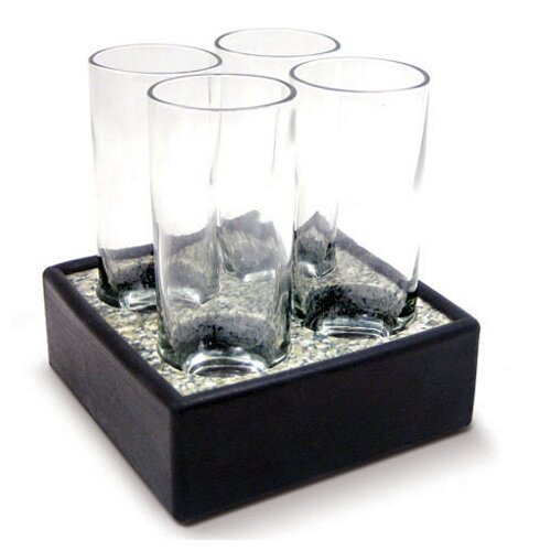 Sea Stones 5 Piece Cool Cordial Glass Set