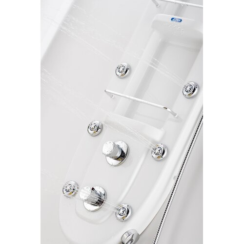 Aston Thermostatic Shower Panel with Six Body Jets