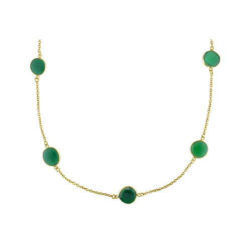 Amour Gorgeous Necklace in Green