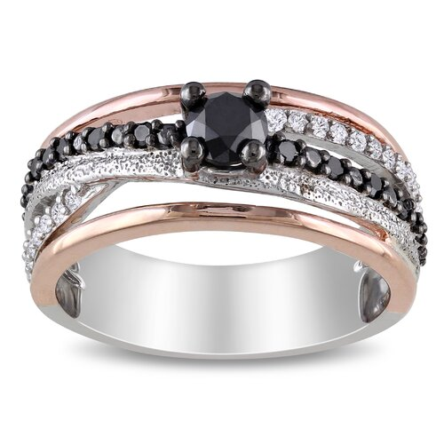 Silver Round Diamonds Cut Fashion Wedding Ring