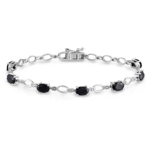 Diamond and Sapphire Link Bracelet