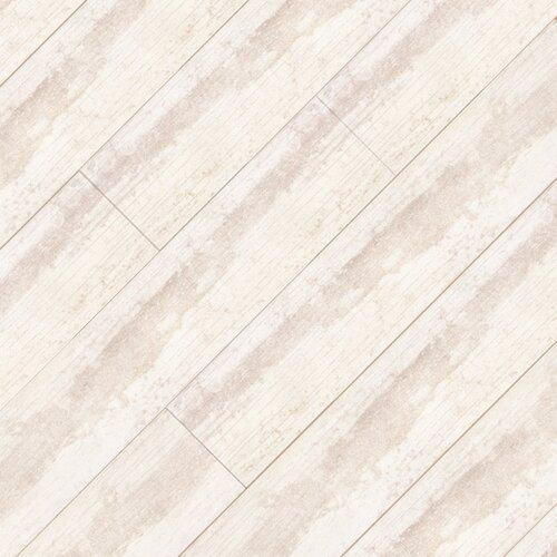 "Ege Seramik Atlantic 24"" x 5"" Porcelain Field Tile in White"