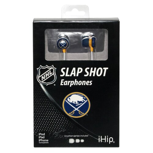 iHip NHL Logo Earbuds