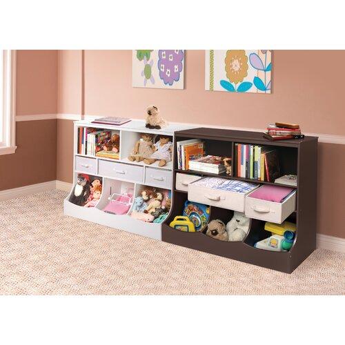 kids 39 toy storage combo bin storage unit reviews wayfair. Black Bedroom Furniture Sets. Home Design Ideas