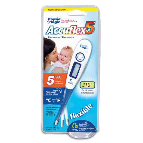 Hugo Accuflex 5 Digital Thermometer with Five Second Results