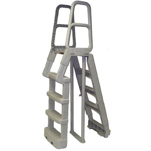 "Main Access ""A"" Frame Resin Ladder in Taupe"