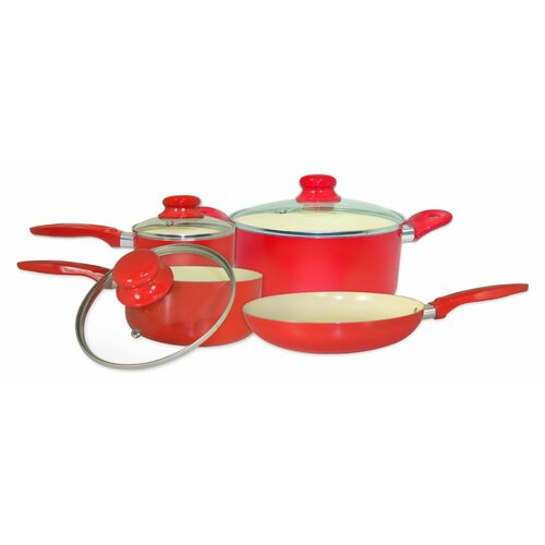4 Piece Aluminum Cookware Set
