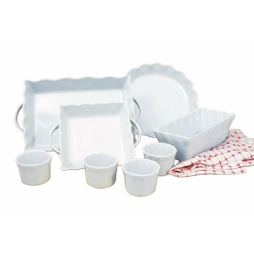 8 Piece Ceramic Bakeware Set
