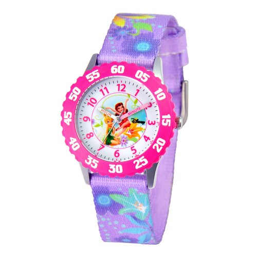 Disney Girl's Fairies Time Teacher Watch