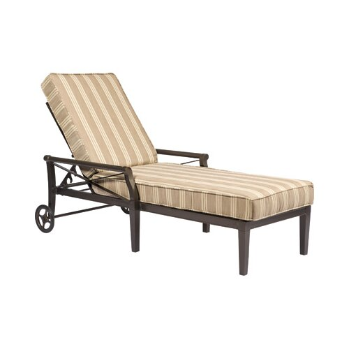 Woodard Andover Adjustable Chaise Lounge Cushion