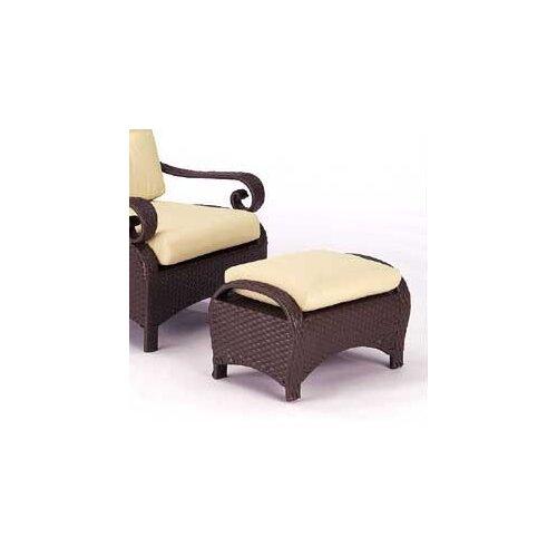 Woodard Carlton Ottoman with Cushion