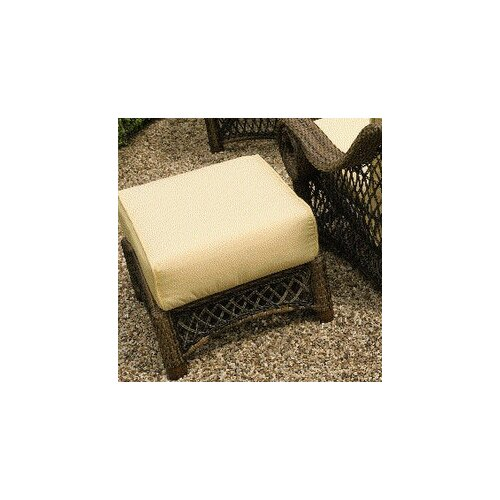 Woodard Belmar Ottoman with Cushion