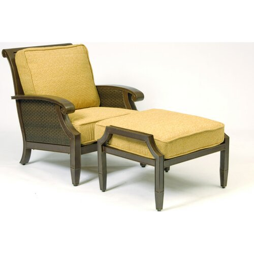 Woodard Del Cristo Stationary Lounge Chair Cushion