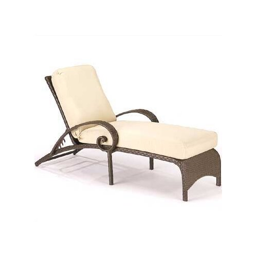 Woodard Carlton Chaise Lounge with Cushion