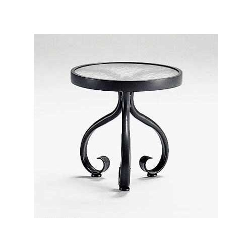 Ramsgate Acrylic Top Occasional Side Table