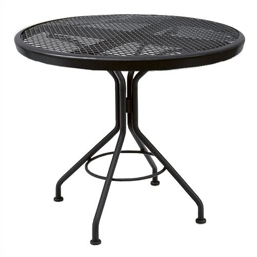 Mesh Top Contract Round Bistro Table