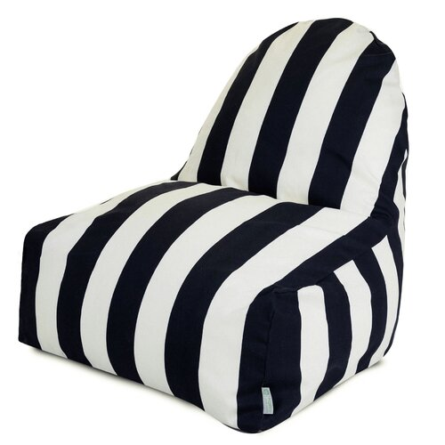 Vertical Stripe Bean Bag Chair