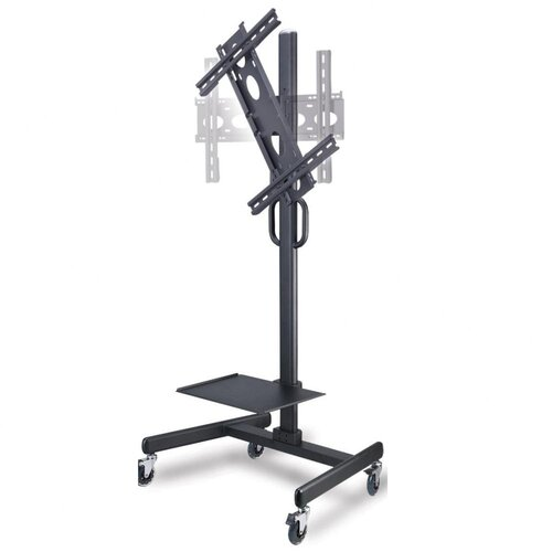 "Cotytech Adjustable Ergonomic Mobile TV Cart for 32"" - 52"""