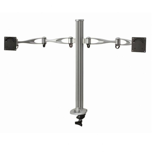 Cotytech 2 Screen Monitor Dual Swing Arm Desktop Mount