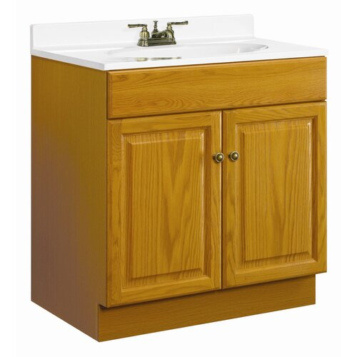 "Design House Claremont 30"" Double Door Vanity Base"