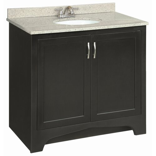 "Design House Ventura 37"" Double Door Vanity Set"