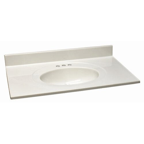 "Design House 49"" Single Bowl Vanity Top"