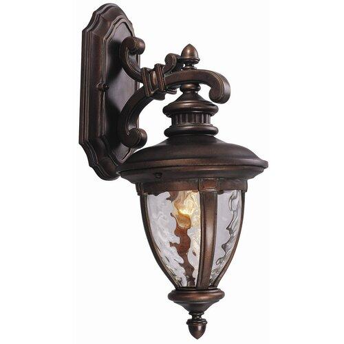Design House Tolland 3 Light Outdoor Downlight Wall Lantern