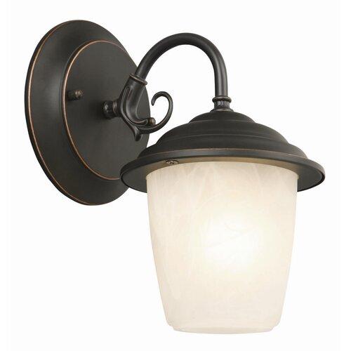 Design House Millbridge 1 Light Outdoor Downlight Wall Lantern